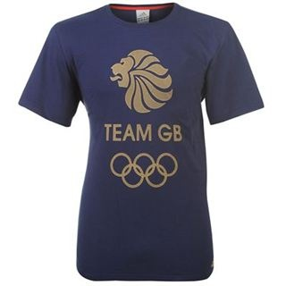 adidas adidas Olympics Team GB Logo T Shirt Mens from www.sportsdirect.com