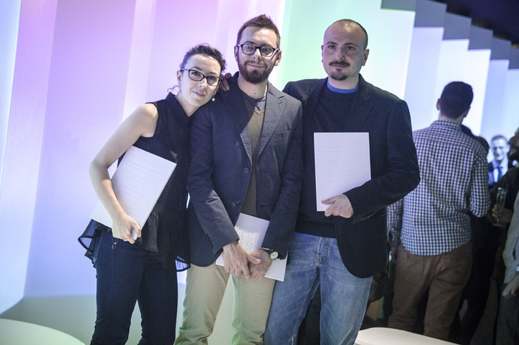Paola Taccardi, Dario Gaudio and Vittorio Venezia