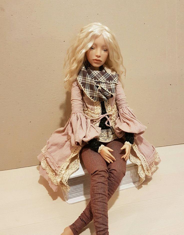 My hand-made doll Avrora, 55cm