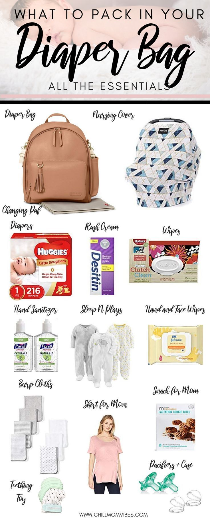 Wondering What To Pack In Your Diaper Bag This Is A Complete List