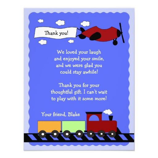 17 best choo choo choose you card images on pinterest train train plane flat thank you card 4x5 invites stopboris Image collections
