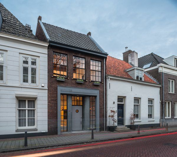 Photo 3 Of 14 In A 19th Century Dutch Workshop Is Now A Stunning Architecture House Exterior Dutch House
