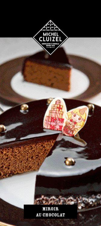 Recette du Miroir chocolat noir