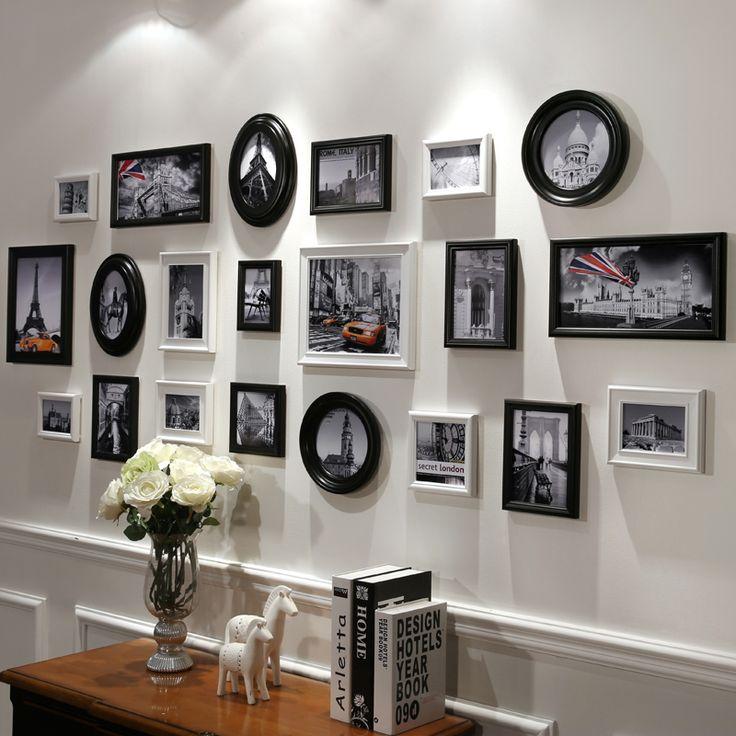 1000 idee su cornici di legno per foto su pinterest for Set cornici da parete