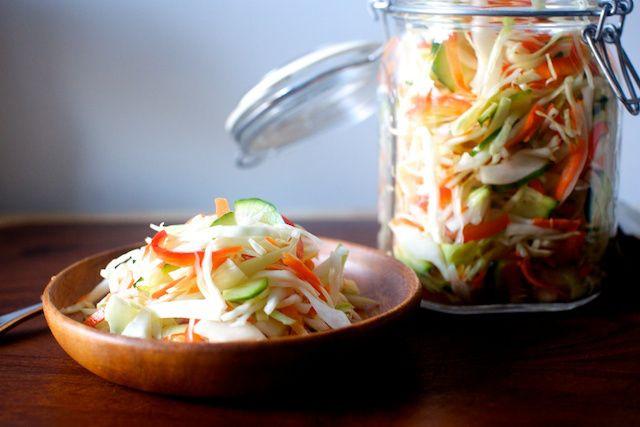 pickled cabbage salad | Smitten Kitchen
