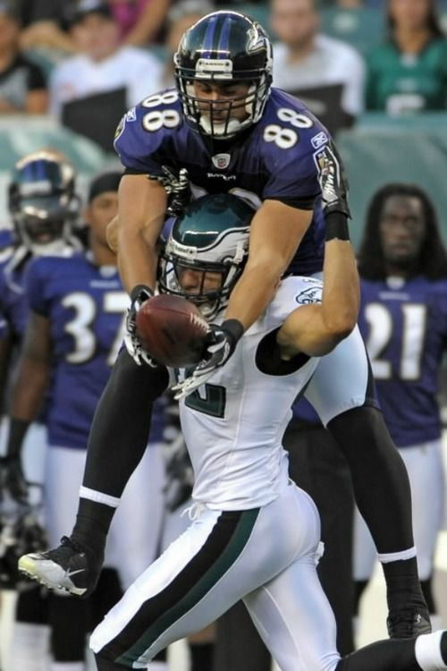 Dennis Pitta = stud.  Ok...that comment was not from me!  He's my cousin...but I will not argue the point!