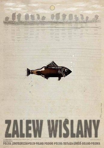 Ryszard Kaja, Polska - ZALEW WIŚLANY, 2016, Size: B1
