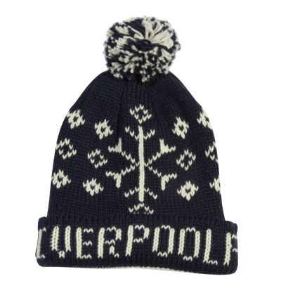 LFC Navy Fairisle Hat. Was £20, now £4.