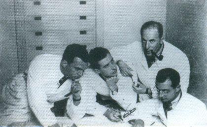 BBPR: Gian Luigi Banfi, Lodovico Barbiano di Belgiojoso, Enrico Peressutti and Ernesto Nathan Rogers