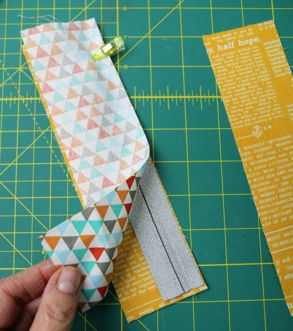 Sewing pencil case for & # 39; s notebook   – Projekte