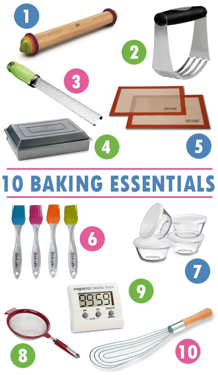 10 Baking Tool Essentials for the Beginner Baker