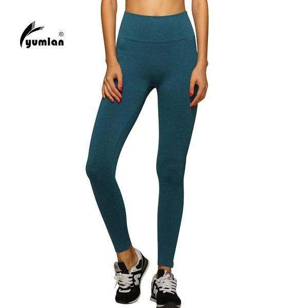Fitness Solid Color Leggings