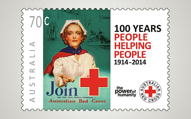 Introducing… The Australia Red Cross centenary stamp release. Established just nine days after the commencement of World War I, the Australian Red Cross was responsible for much of the World War I home front activities such as knitting socks and rolling bandages. Find out more: http://auspo.st/1q9cAMM