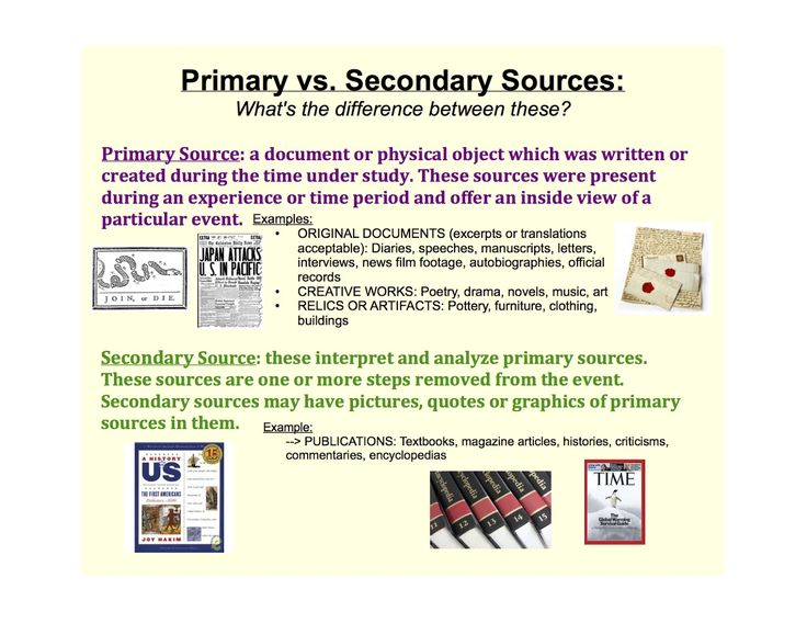 Best 20+ Secondary source ideas on Pinterest | Primary sources ...