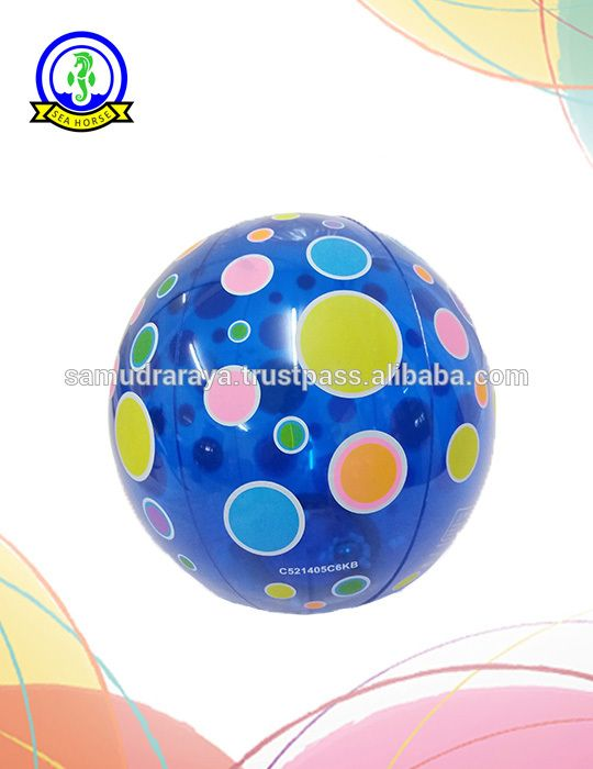 PVC Inflatable Beach Balls 36cm 0.12-0.13mm High Quality