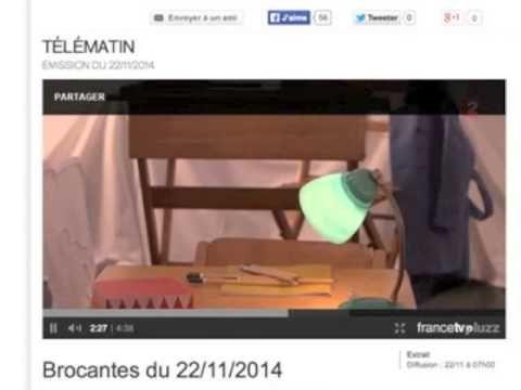 Reportage Télé Matin sur l'exposition Little Vintage #TELEMATIN #FRANCE2 #VINTAGE #LAMARELLE #MARCHEDAUPHINE #DESIGN #CHILDREN