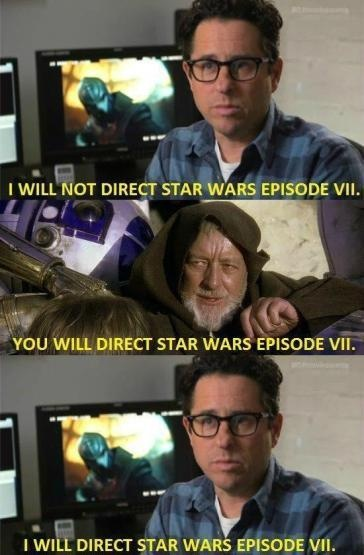 Star Wars humor.