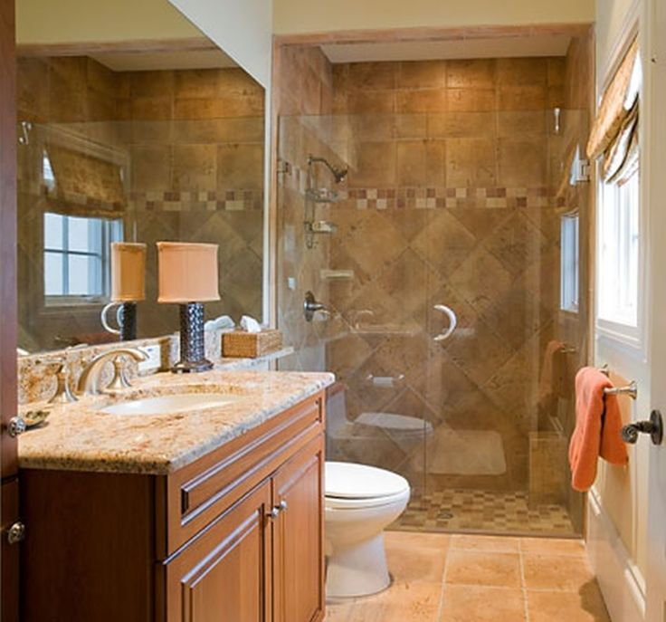 Best 25 narrow bathroom ideas on pinterest small narrow - Pictures of remodeled small bathrooms ...