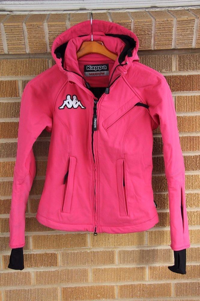 e39c4a72e5633 Kappa~Hot Pink Ski Snowboard Jacket Coat~Wind and Waterproof~M (fits  small)~ 650  Kappa  BasicJacket