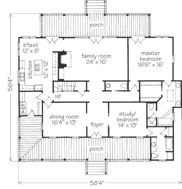 13 Best Images About House Plans On Pinterest 2nd Floor