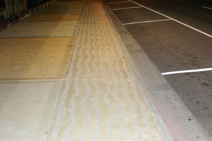 Stencil Work on Footpath Multiblast Sandblasting ph 0412 251 022