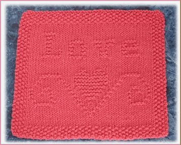 Knitted Dishcloth Patterns States : 111 best Knitting dishcloths patterns images on Pinterest