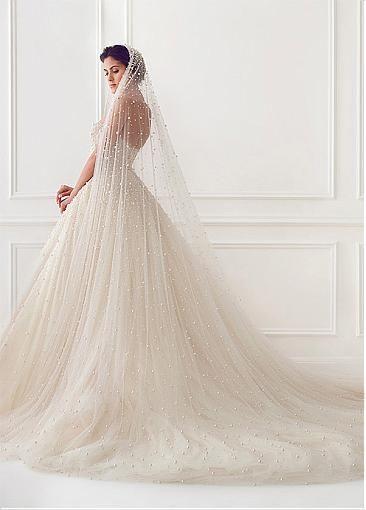 Princess style wedding dress - bridal dress