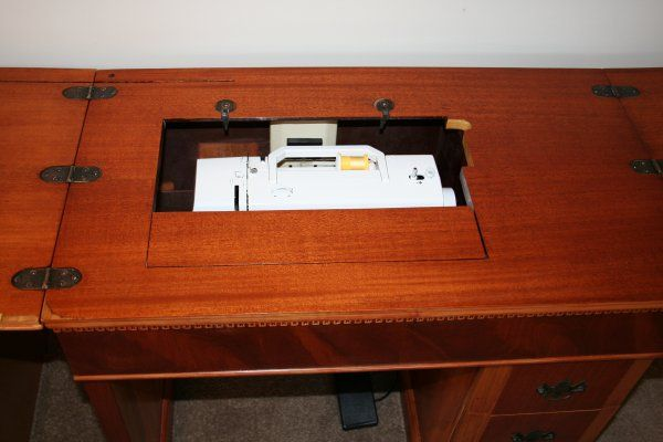 How To Make A Seamstress Very Happy Ideas Pinterest Sewing Extraordinary Cabinets For Sewing Machines