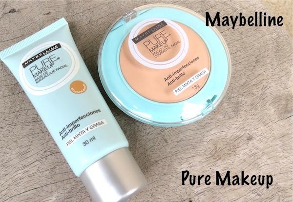 mayebelline pure makeup