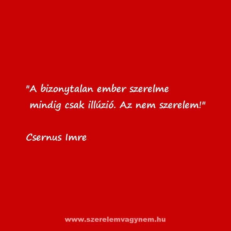 Szerelmes idézet Csernus Imre