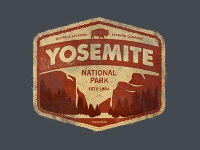 Yosemite By Jarrett Arant Badge Adventure Pinterest