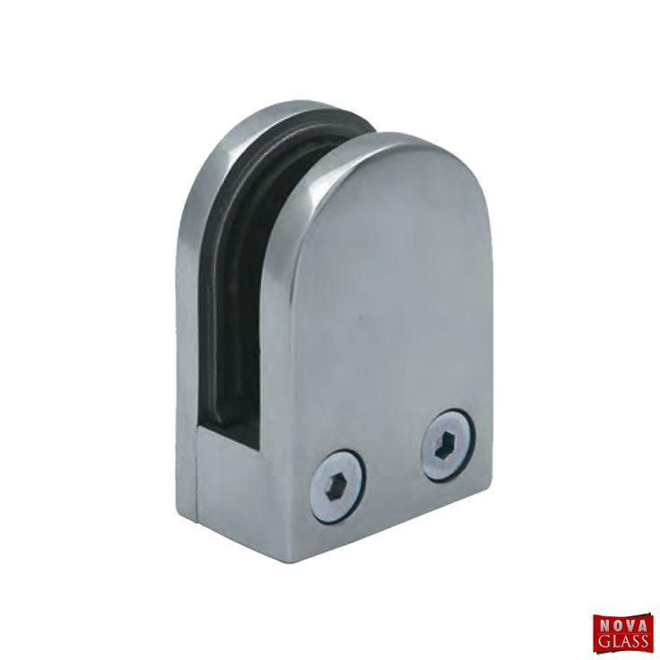 Στήριγμα διαιρούμενο ημικυκλικό για 8-10 mm Κωδ.3416   Nova Glass e-shop