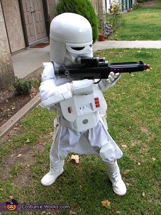 Snowtrooper - Homemade costumes for boys