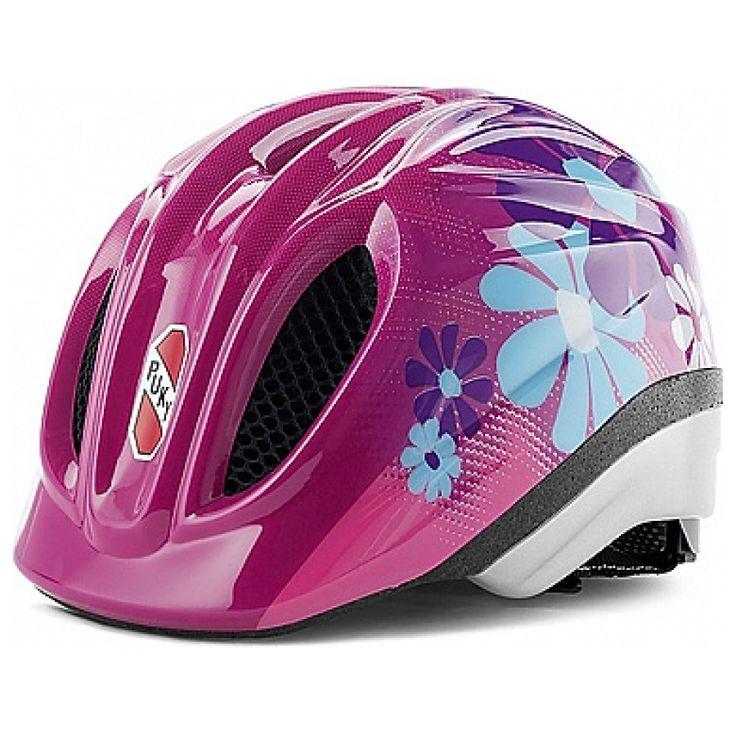 Puky Fahrradhelm PH 1 lovely pink Größe: M/L #PUKY #Fahrradhelm #lovely #pink #rosa #Blumen #flowers #floral #Drehsystem #anpassen #cool #Mädchen #trendig #Sicherheit #safetyfirst #48bis59cm #ab5Jahren