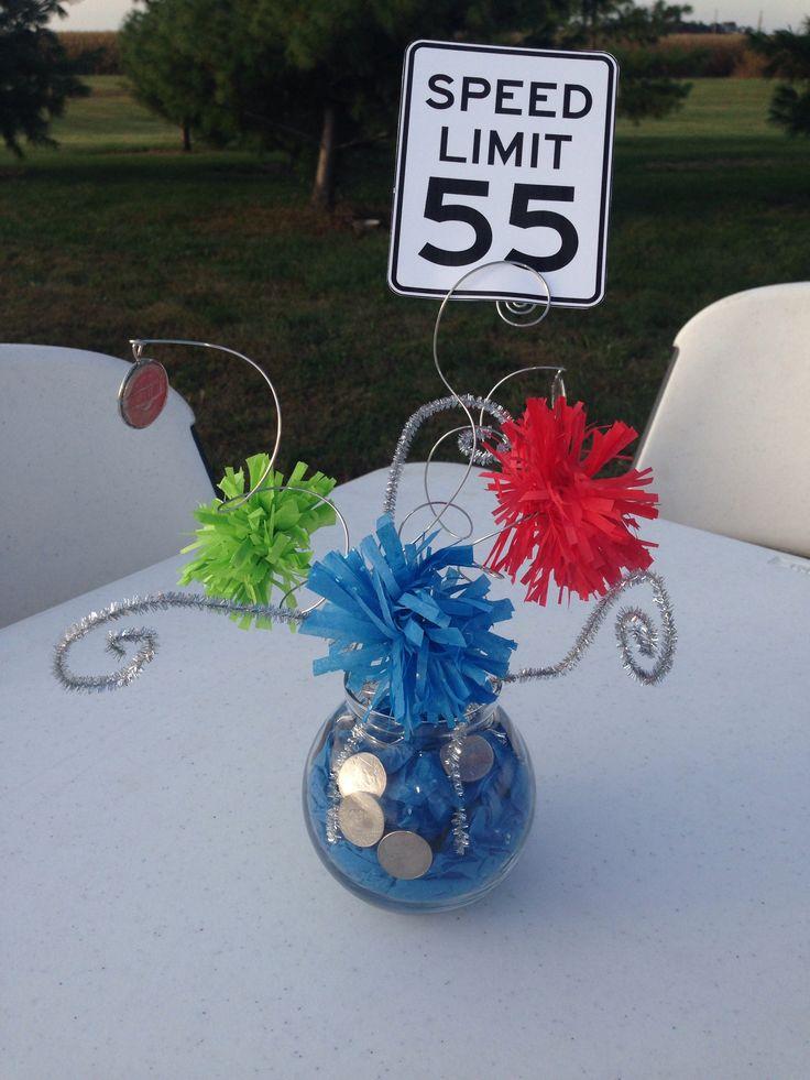 Turning 55 Table Decor Celebration Pinterest