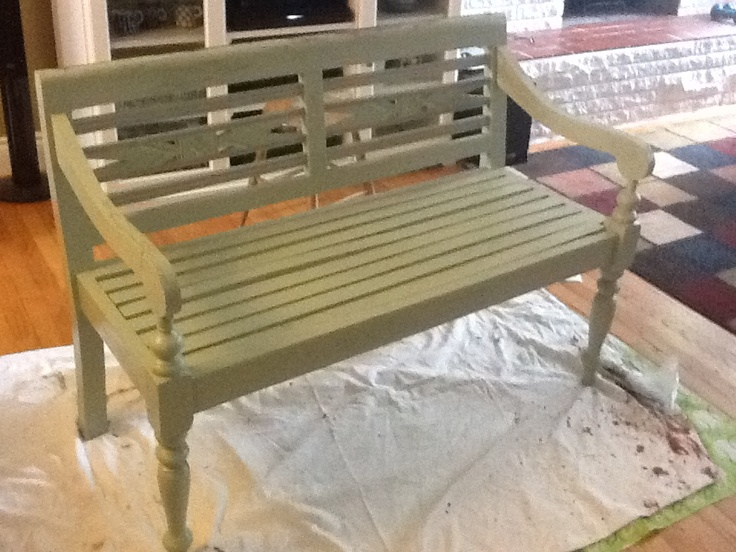 Martha Stewart S Spanish Moss Old Benches Outdoor