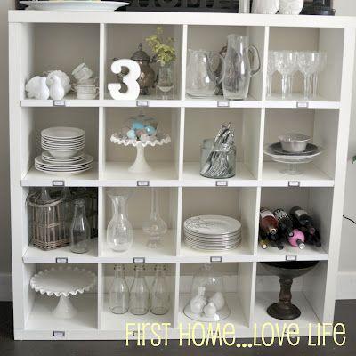 Lovely ikea hack storageIdeas, Room Organic, Dining Room, Crafts Room, Ikea Expedit, Ikea Hacks, Pottery Barns Inspiration, Storage United, Barns Knock