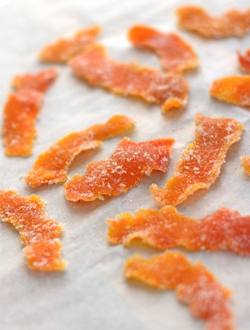 candied orange peel | Holiday Treats and Fat Snacks | Pinterest