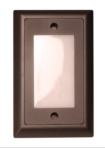 American Lighting SGL-SM-DB Smooth Faceplate for LED Step Light, Dark Bronze by American Lighting. $21.00. American Lighting SGL-SM-DB Faceplate for LED Step Light, Smooth, Dark Bronze Durable cast zinc-magnesium faceplate for American Lighting LED Step light. Dark Bronze Color is great for your home. Smooth shape. built for the American Lighting Step Light model # SGL-LED-WW. Durable wall plate. zinc-magnesium material is built to last.