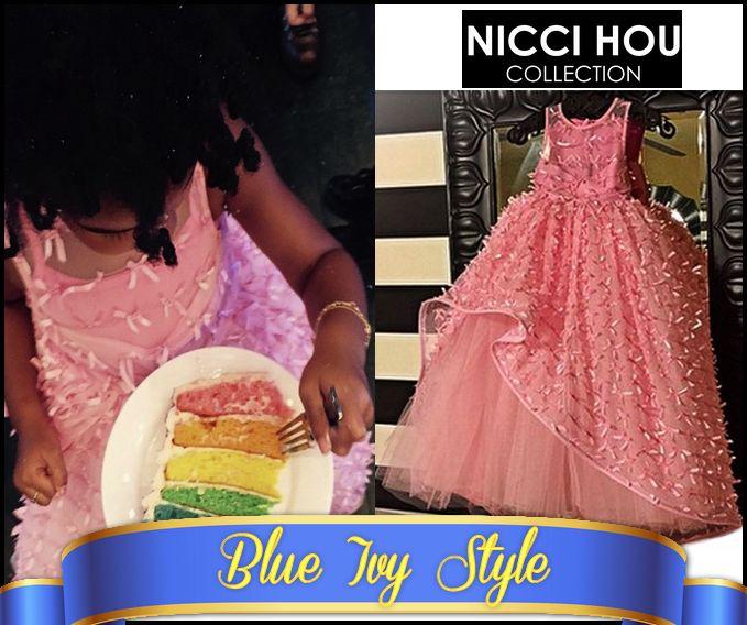 Blue Ivy's Birthday Dress - Nicci Hou Collection 07.01.2015