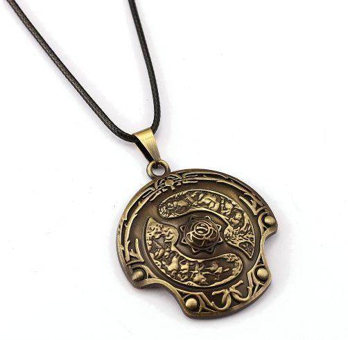 DOTA 2 Immortal Aegis Champion Shield Necklace //Price: $9.95 & FREE Shipping //