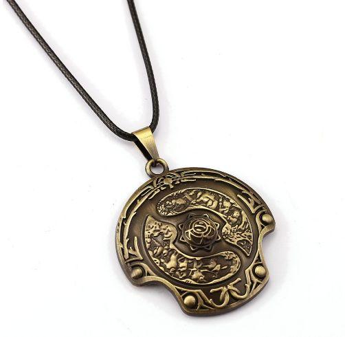 DOTA 2 Immortal Aegis Champion Shield Necklace //Price: $9.95 & FREE Shipping //