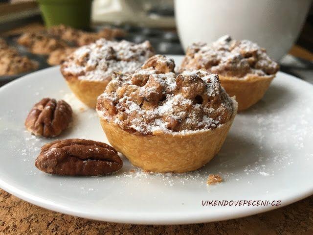 VÍKENDOVÉ PEČENÍ: Košíčky s pekanovými ořechy