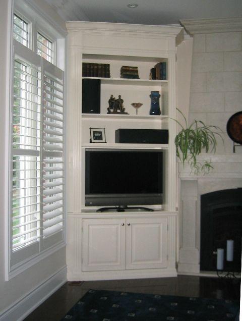 20 best diy corner tv stands images on pinterest. Black Bedroom Furniture Sets. Home Design Ideas
