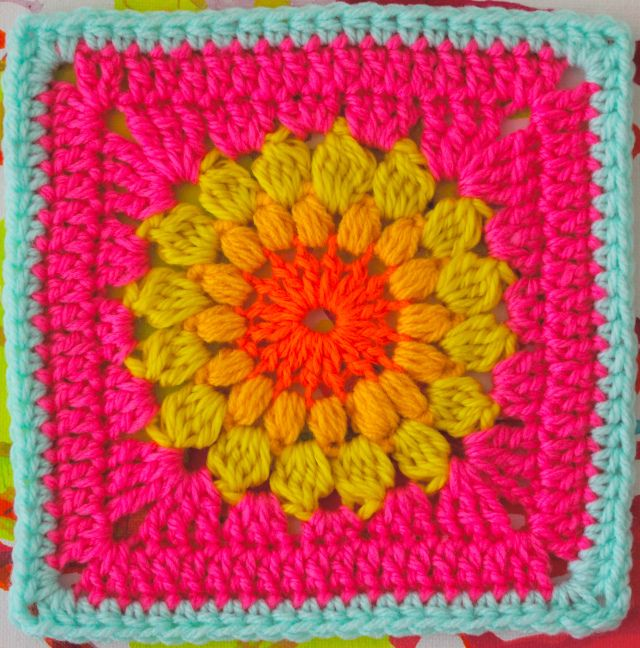 The 17 Best Images About Granny Square On Pinterest Free Pattern