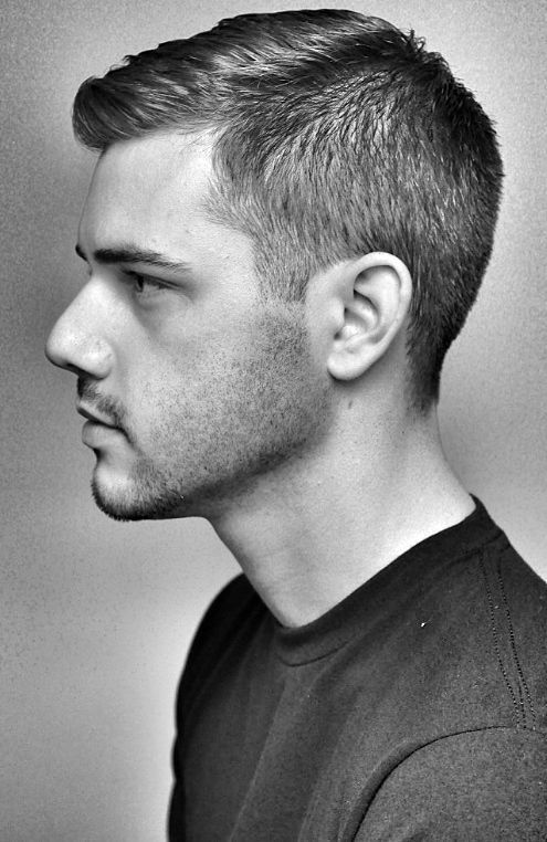 Outstanding 1000 Ideas About Men39S Crew Cut On Pinterest Military Haircuts Short Hairstyles For Black Women Fulllsitofus
