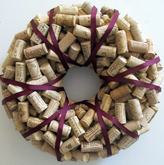 Wino wreath