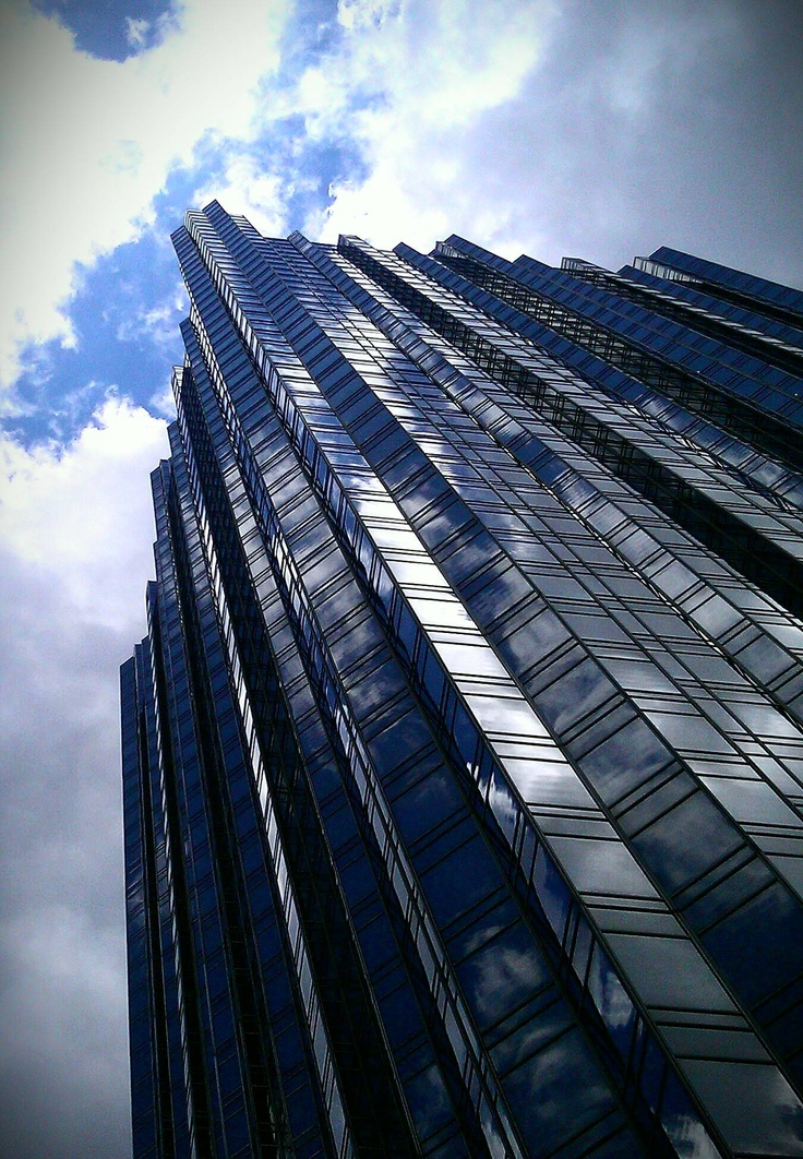 Pittsburgh-picture I took with my phone while on the Ducky Tour downtown #pittsburgh #ppg PPG