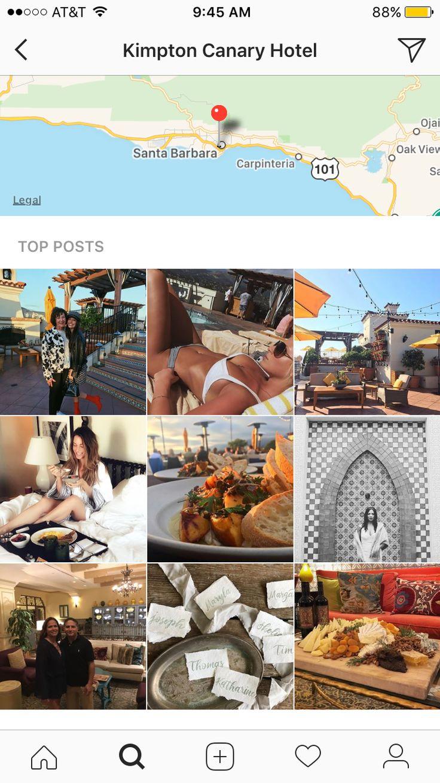 Kimpton Canary Hotel in Santa Barbara, CA