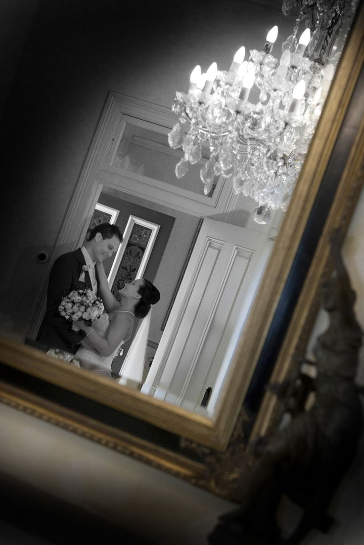 reflection of couple in mirror, Canberra photographer Eddie Misic